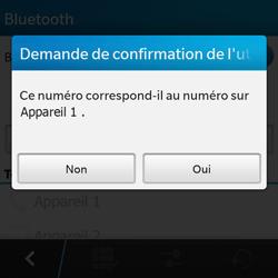 BlackBerry Q10 - Bluetooth - connexion Bluetooth - Étape 10