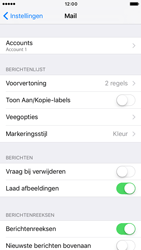Apple iPhone 6s iOS 10 - E-mail - e-mail instellen: IMAP (aanbevolen) - Stap 16