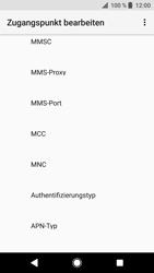Sony Xperia XZ - MMS - Manuelle Konfiguration - 11 / 26