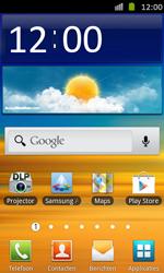 Samsung I8530 Galaxy Beam - Internet - handmatig instellen - Stap 1