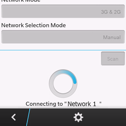BlackBerry Q10 - Network - Manual network selection - Step 10