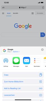 Apple iPhone XS Max - iOS 13 - Internet und Datenroaming - Verwenden des Internets - Schritt 6