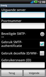 LG P990 Optimus 2X Speed - e-mail - handmatig instellen - stap 9