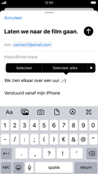 Apple iPhone 7 - iOS 13 - E-mail - e-mail versturen - Stap 8