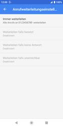 Sony Xperia XZ2 Compact - Android Pie - Anrufe - Rufumleitungen setzen und löschen - Schritt 11