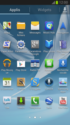 Samsung Galaxy Note 2 - Applications - Supprimer une application - Étape 3
