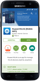 Huawei E5770 - Applications - download application for the smartphone - Step 10
