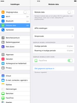 Apple iPad 4th generation iOS 7 - Internet - aan- of uitzetten - Stap 5