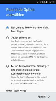 Samsung Galaxy A8 - Apps - Einrichten des App Stores - Schritt 16