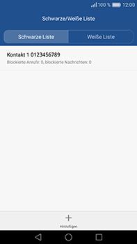 Huawei P9 Plus - Anrufe - Anrufe blockieren - Schritt 12