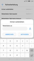 Huawei P10 - Anrufe - Rufumleitungen setzen und löschen - 0 / 0