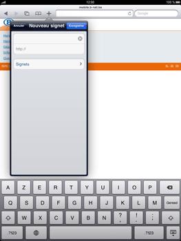 Apple iPad - Internet - navigation sur Internet - Étape 10