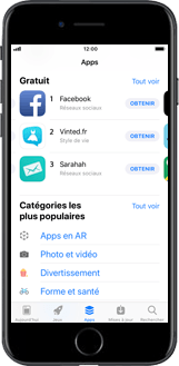 Apple iPhone 5s - iOS 11 - Applications - Créer un compte - Étape 4