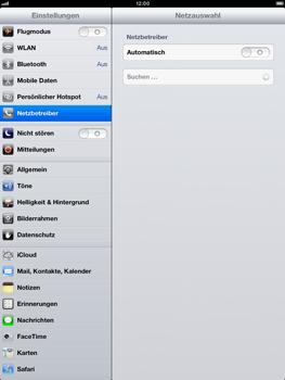 Apple iPad Retina - Netzwerk - Manuelle Netzwerkwahl - Schritt 7