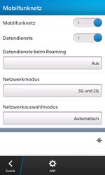 BlackBerry Z10 - Internet und Datenroaming - Manuelle Konfiguration - Schritt 6
