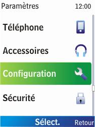 Nokia X2-00 - Internet - Configuration manuelle - Étape 4