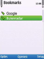 Nokia 6700 slide - internet - hoe te internetten - stap 11