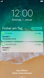 Apple iPhone 6s - iOS 11 - Sperrbildschirm und Benachrichtigungen - 9 / 10