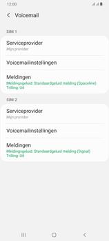 Samsung Galaxy A70 - voicemail - handmatig instellen - stap 7