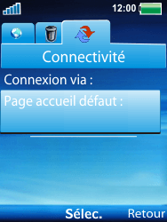 Sony W100i Spiro - Internet - Configuration manuelle - Étape 12