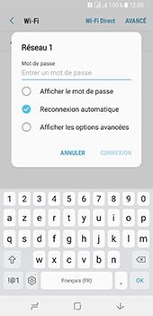Samsung Galaxy A8 - Internet et connexion - Accéder au réseau Wi-Fi - Étape 8