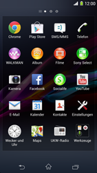 Sony Xperia Z1 - Netzwerk - Manuelle Netzwerkwahl - Schritt 3