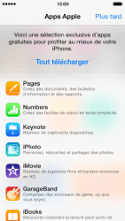 Apple iPhone 5c - Applications - configuration de votre store d