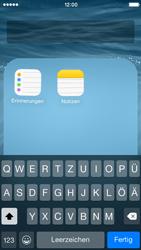 Apple iPhone 5C iOS 8 - Startanleitung - personalisieren der Startseite - Schritt 6