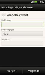 HTC T328e Desire X - E-mail - Handmatig instellen - Stap 14