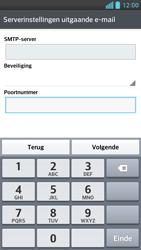 LG P760 Optimus L9 - e-mail - handmatig instellen - stap 12