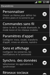 HTC A6262 Hero - Internet - Configuration manuelle - Étape 4