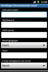 Samsung S6500D Galaxy Mini 2 - E-mail - handmatig instellen - Stap 8