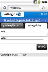 Alcatel OT-991 Smart - Internet - hoe te internetten - Stap 10