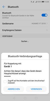Huawei Y7 (2018) - Bluetooth - Verbinden von Geräten - Schritt 7