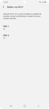 Samsung Galaxy S20 Plus 5G Dual SIM eSIM SM-G986B - Bellen - WiFi Bellen (VoWiFi) - Stap 6