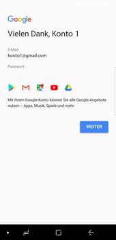 Samsung Galaxy S9 - Apps - Konto anlegen und einrichten - 18 / 21