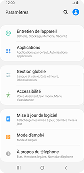 Samsung Galaxy S9 - Android Pie - Applications - Comment désinstaller une application - Étape 4