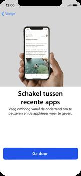 Apple iPhone X - Toestel - Toestel activeren - Stap 40