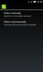 Alcatel One Touch Pop C3 - Network - manual network selection - Step 10
