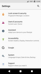 Sony Xperia XZ1 - Mobile phone - Resetting to factory settings - Step 4