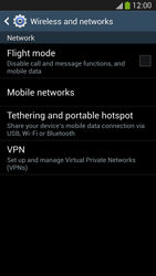 Samsung Galaxy S 4 LTE - Internet and data roaming - Disabling data roaming - Step 5
