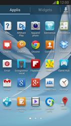 Samsung Galaxy Note 2 - Photos, vidéos, musique - Ecouter de la musique - Étape 3