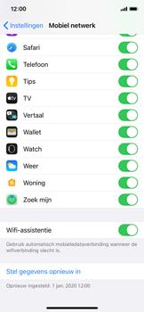 Apple iPhone 12 mini - wifi - schakel Wi-Fi Assistentie uit - stap 5