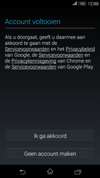 Sony Xperia E4g (E2003) - Applicaties - Account aanmaken - Stap 13