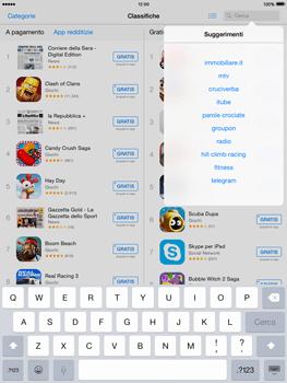 Apple iPad mini iOS 8 - Applicazioni - Installazione delle applicazioni - Fase 11