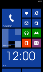 HTC Windows Phone 8S - Netwerk - Handmatig netwerk selecteren - Stap 12