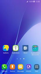 Samsung Galaxy A5 (2016) (A510F) - Operazioni iniziali - Installazione di widget e applicazioni nella schermata iniziale - Fase 3