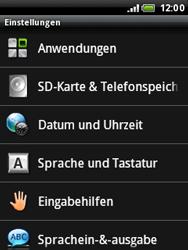 HTC Wildfire - Fehlerbehebung - Handy zurücksetzen - 6 / 10