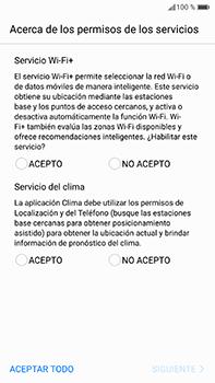 Huawei P10 Plus - Primeros pasos - Activar el equipo - Paso 8