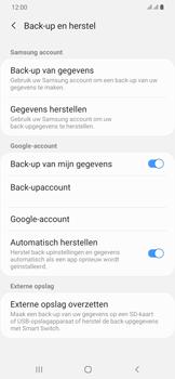 Samsung Galaxy A30 - toestel resetten - back-up maken met jouw account - stap 9
